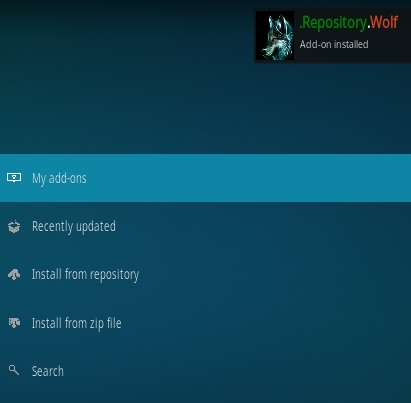 How To Install Wolf Kodi Addon Step 14