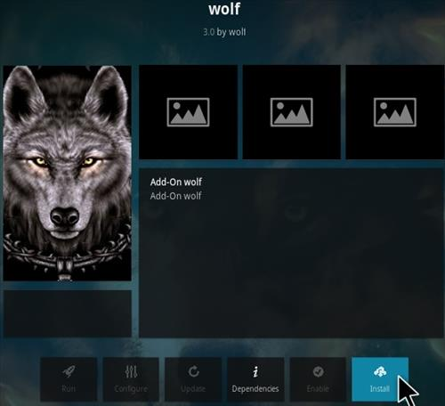 How To Install Wolf Kodi Addon Step 18