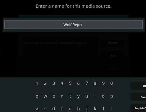 How To Install Wolf Kodi Addon Step 6
