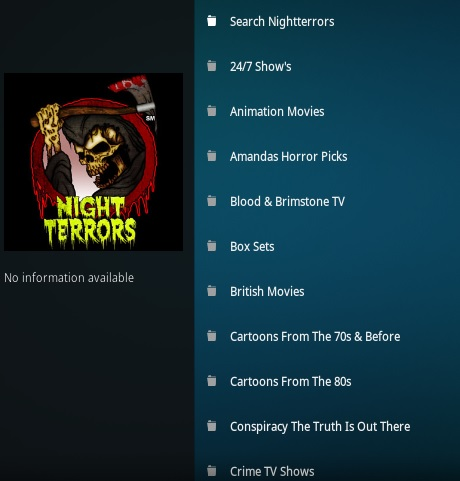 How To Install Night Terrors Kodi Addon | WirelesSHack