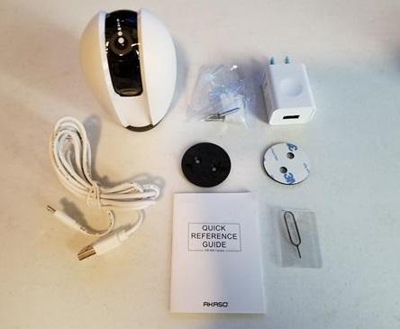 Review: AKASO P30 WiFi Smart Security Camera Rotating HD 1080p