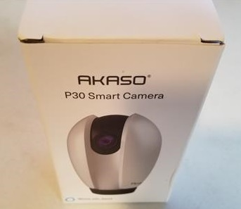 Review AKASO P30 Wireless Camera Work with Alexa Google Home