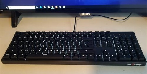 Review Velocifire VM02WS Wireless Mechanical Keyboard