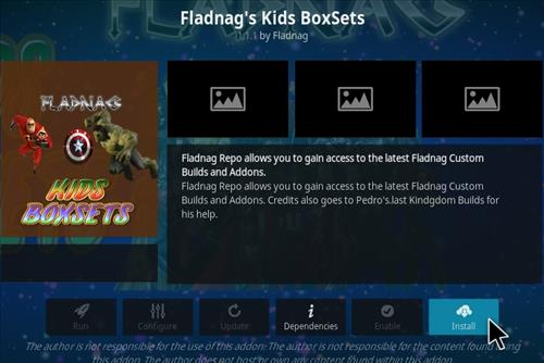 How To Install Fladnag Kids BoxSets Kodi Addon Step 18