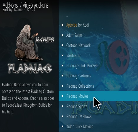 How To Install Fladnag Movies Kodi Addon Step 17