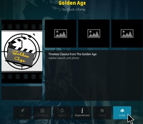 How To Install Golden Age Kodi Addon Step 19