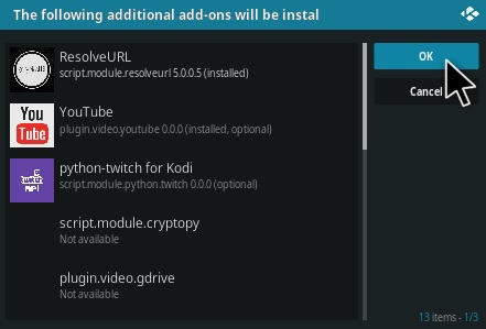 How To Install Golden Age Kodi Addon Step 20