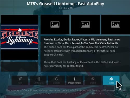 How To Install MTB's Greased Lighting Kodi Addon Step 19