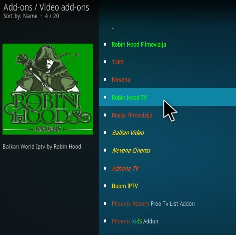 How To Install Robin Hood Cinema Kodi Addon Ver 17 Step 17