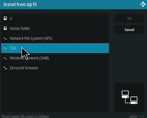 How To Install T2K Portal Kodi Addon Step 11