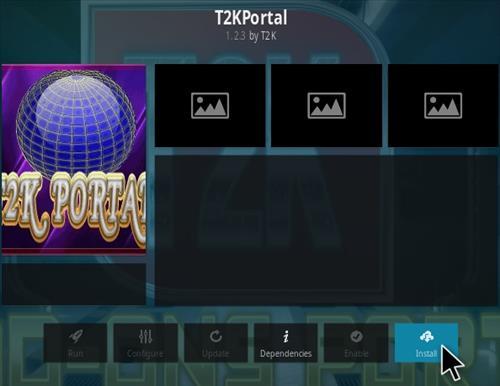 How To Install T2K Portal Kodi Addon Step 18