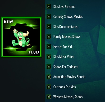 How to Install Kidz Club Kodi Addon Overview
