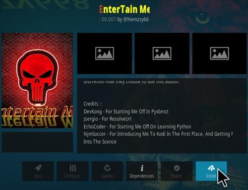 How To Install EnterTain Me Kodi Addon 777 Step 18