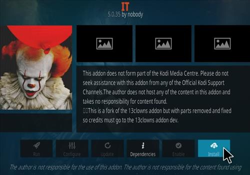 How To Install IT Kodi Addon Step 18