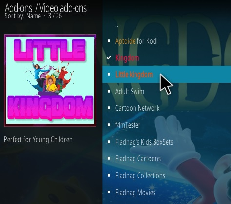 How To Install Little Kingdom Kodi Addon Step 17