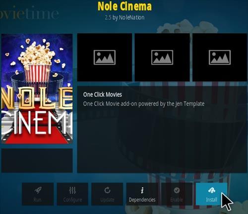 How To Install Nole Cinema Kodi Addon New 777 Step 18