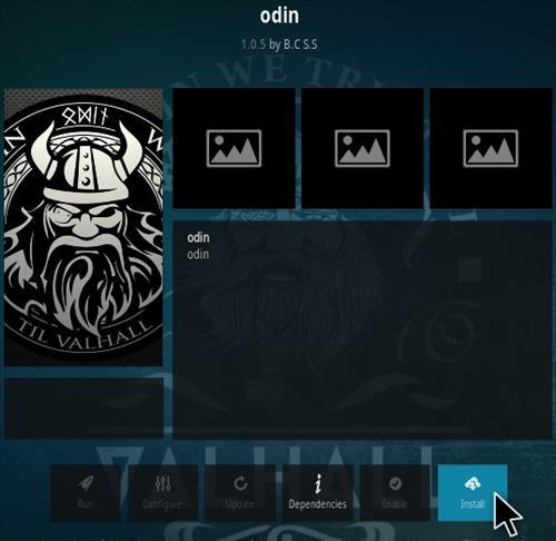 How To Install Odin Kodi Addon Step 18