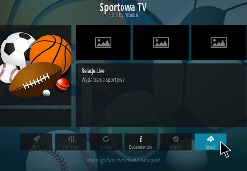 How To Install Sportowa TV Kodi Sports Addon 777 Step 18