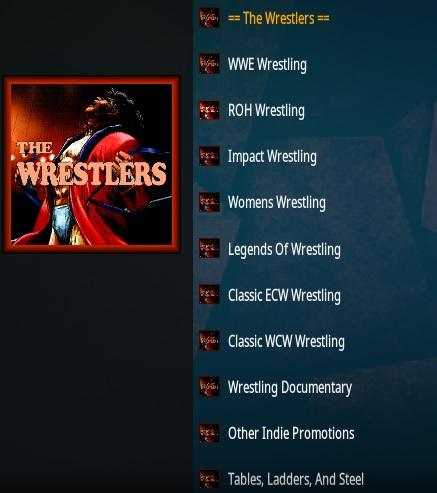 How To Install The Wrestlers Kodi Addon | WirelesSHack