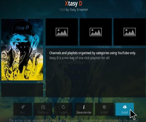 How To Install XTASY D Kodi Addon step 18