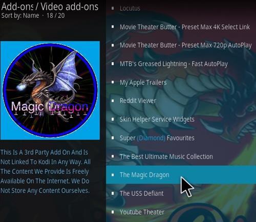 How to Install The Magic Dragon Kodi Add-on | WirelesSHack