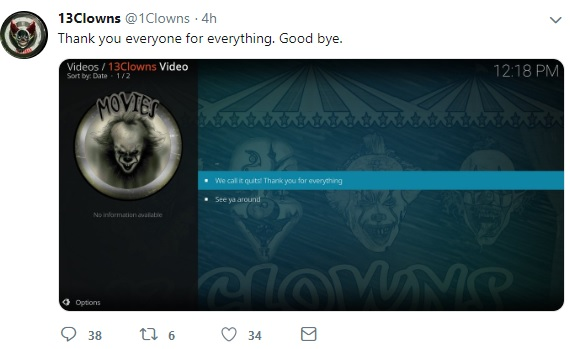 Top Kodi Repositories Shut Down June 2019 13 Clowns