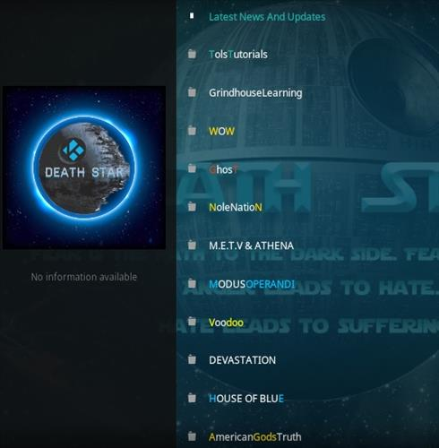 How To Install DeathStar Kodi Addon Update Overveiw