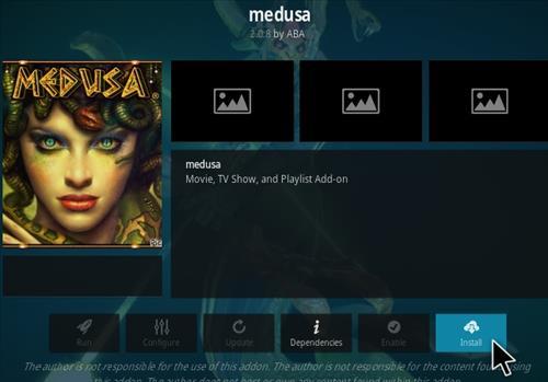 How To Install Medusa Kodi Addon Updated EM Step 18