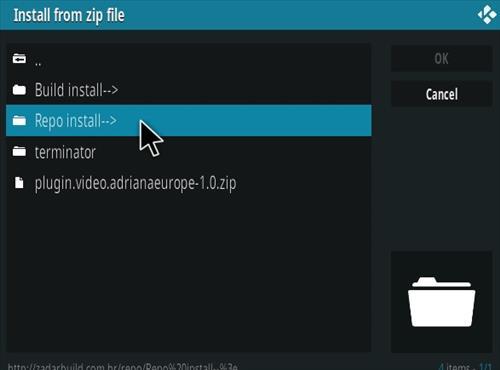 How To Install POSEIDON Kodi Video Addon Step 12