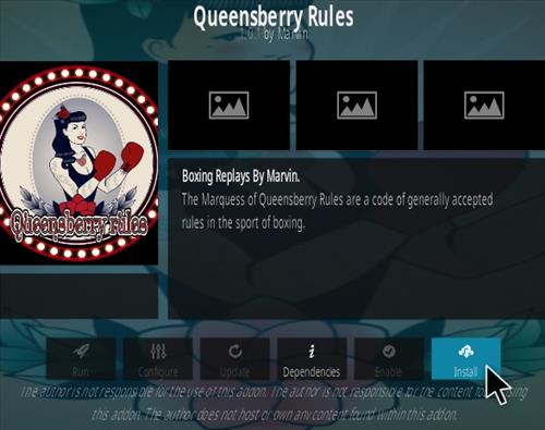 How To Install Queensberry Rules Kodi Addon Step 19