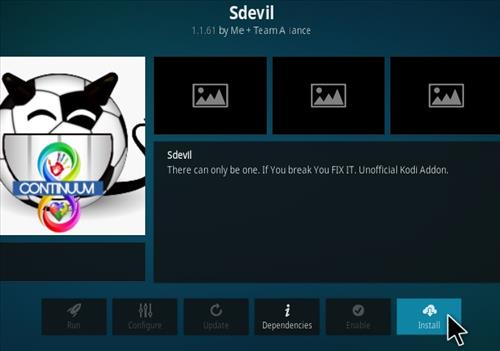 How To Install Sdevil Kodi Addon Step 18
