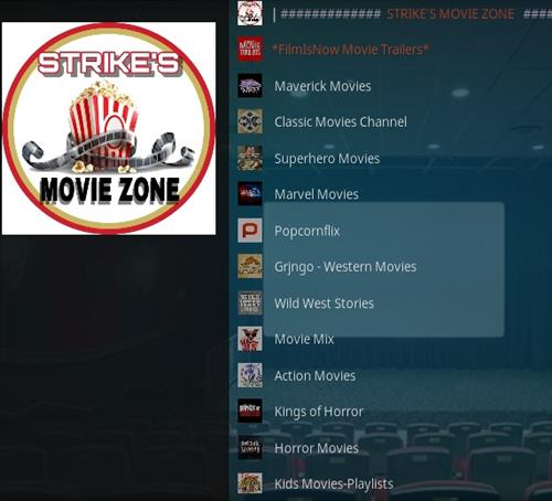 How To Install Strike's Movie Zone Kodi Addon Updated Overview