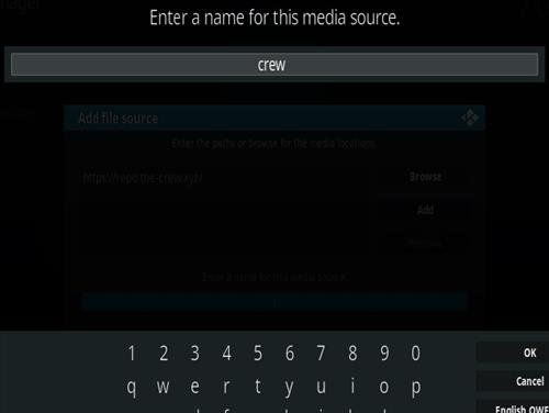 How To Install The Crew Kodi Addon Step 6