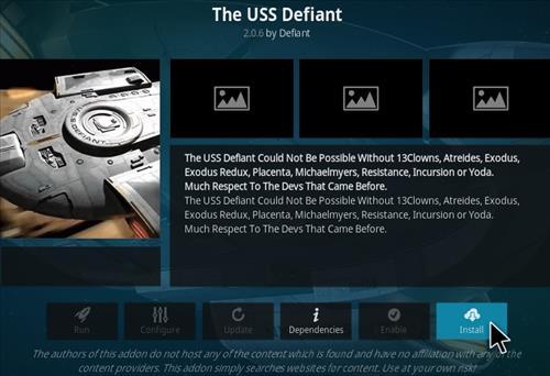 How To Install The USS Defiant Kodi Addon Step 19