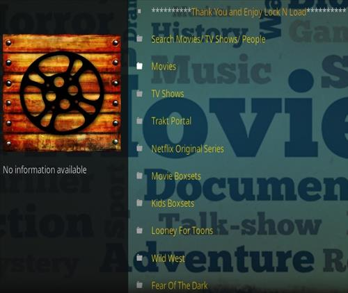 How to Install Lock and Load Kodi Addon Updated Overview