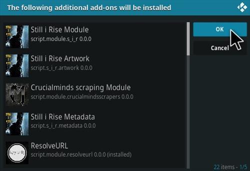 How to Install Still I Rise Kodi Add-on Step 19