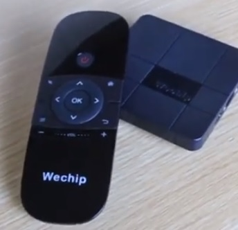 Best Android TV Box Remote Controls and Keyboards Wechip 2
