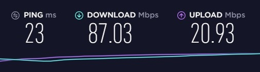 Brostrend Manual WiFi Speed Test