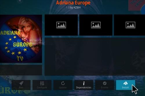 How To Install Adriana Europe Kodi Addon Step 18