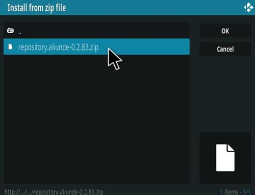 How To Install Aliunde Kodi Addon Updated Step 12