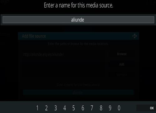 How To Install Aliunde Kodi Addon Updated Step 6