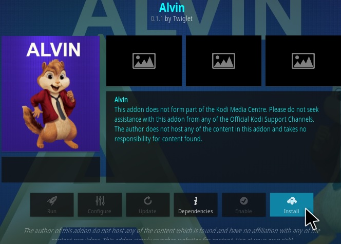 How To Install Alvin Kodi Addon Version 151 Step 18