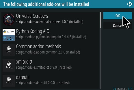 How To Install Area 51 Kodi Addon Step 19