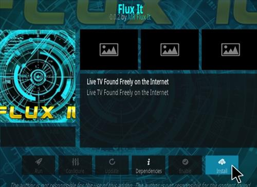 How To Install Flux It Kodi Addon Step 18