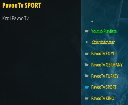How To Install Pavoo TV Kodi Addon Overview