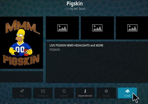 How To Install Pigskin Kodi Addon Step 18