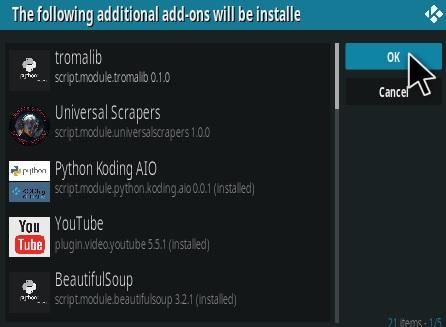 How To Install Troma Films Kodi Addon Step 19