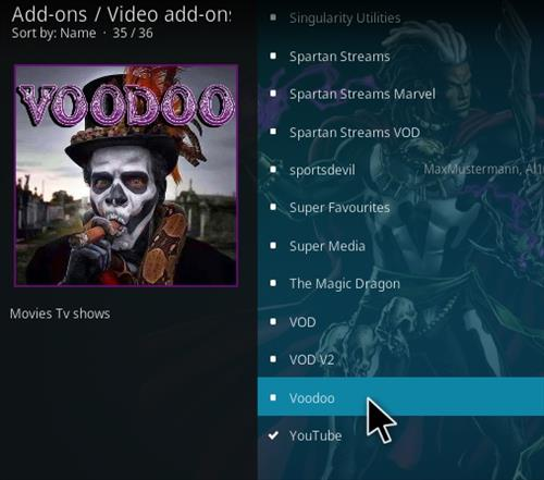 How To Install Voodoo Kodi Addon 777 Step 17