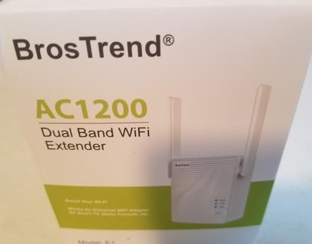 Review BrosTrend 1200Mbps WiFi Range Extender Signal Booster Repeater