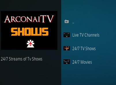 How To Install Arconai TV Kodi Addon Overview